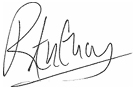 Signature image for Dr. Robert Anthony